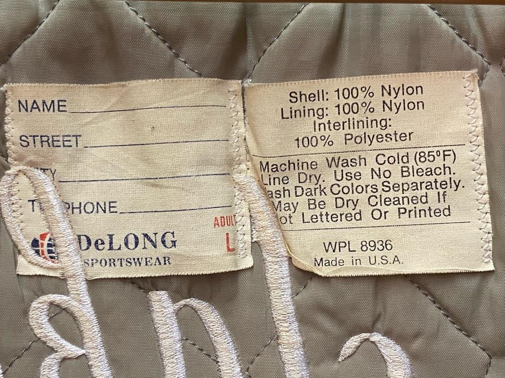 """8月8日(土)マグネッツ大阪店入荷日!\""""Nylon/Satin Varsity JKT Made In USA Part1\""""!!(マグネッツ大阪アメ村店)_c0078587_17511796.jpg"""