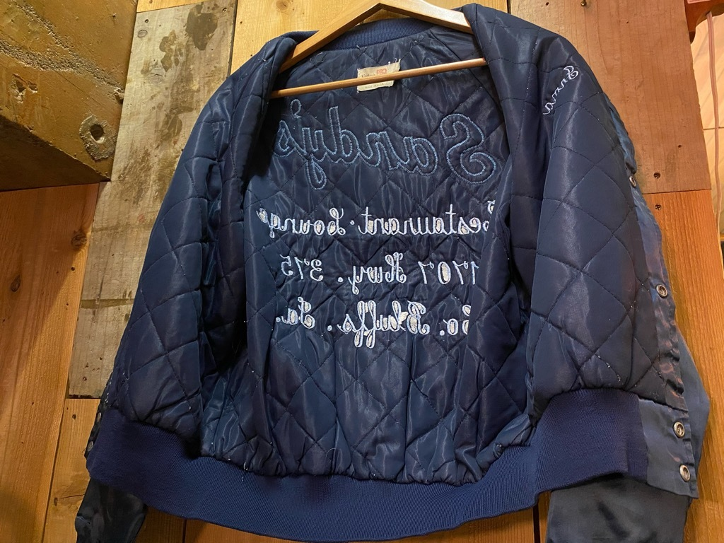"""8月8日(土)マグネッツ大阪店入荷日!\""""Nylon/Satin Varsity JKT Made In USA Part1\""""!!(マグネッツ大阪アメ村店)_c0078587_17585642.jpg"""