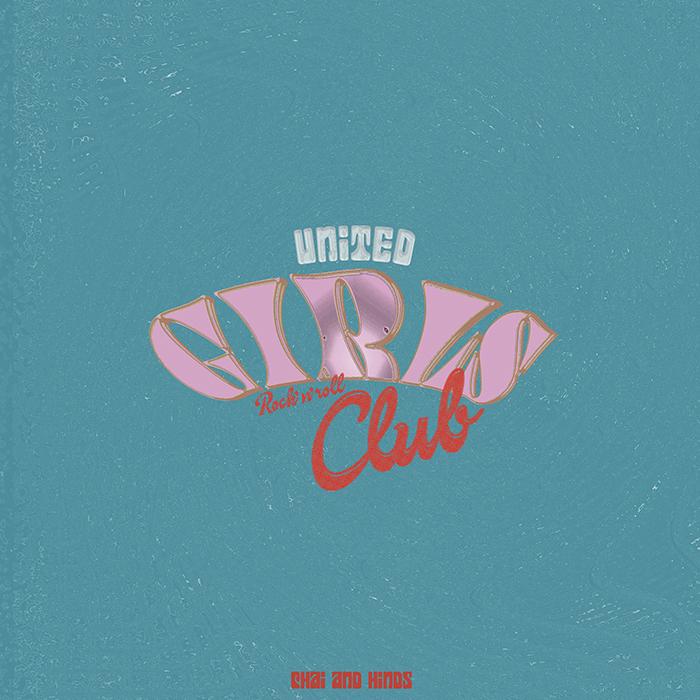 CHAI / HINDS / UNITED GIRLS ROCK 'N' ROLL CLUB /7inch (FLAKES-235) / 2020.08.21 Release_a0087389_17395240.jpg