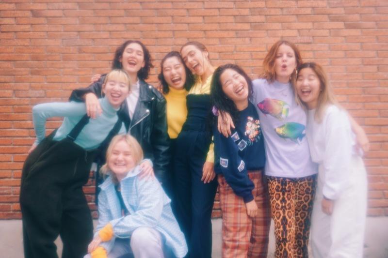 CHAI / HINDS / UNITED GIRLS ROCK 'N' ROLL CLUB /7inch (FLAKES-235) / 2020.08.21 Release_a0087389_17395637.jpg
