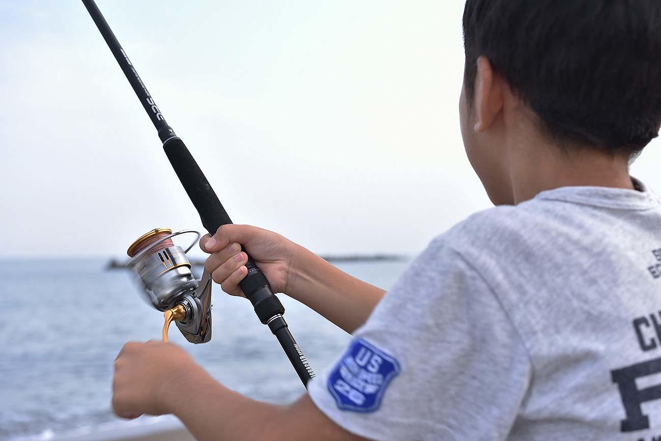 鱚釣り…のつもりが_c0095801_21383657.jpg