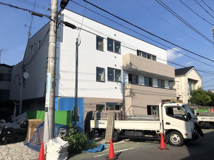 りぶうぇる練馬ディサービスセンター(19) 足場撤去_b0074416_20530359.jpeg