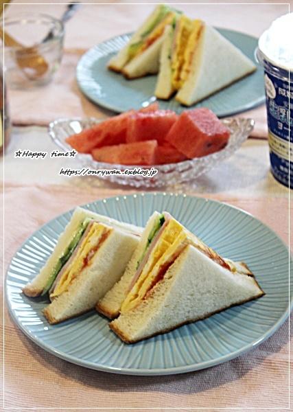お稲荷さん弁当と朝パン♪_f0348032_16050355.jpg