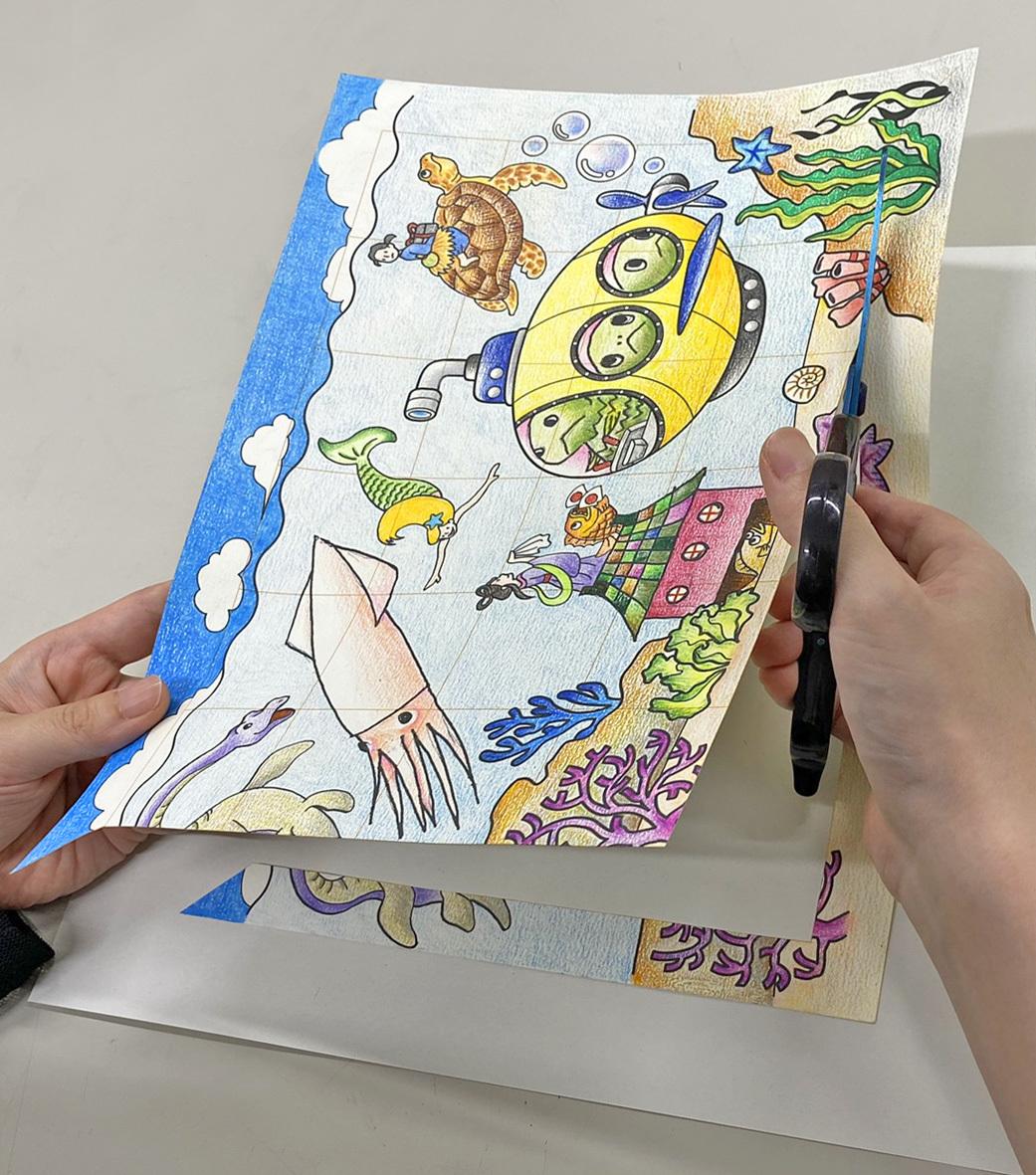 おうちで楽しむプログラム4:つくってあそぼう「描いて切るオリジナルパズル」_c0222139_16431677.jpg