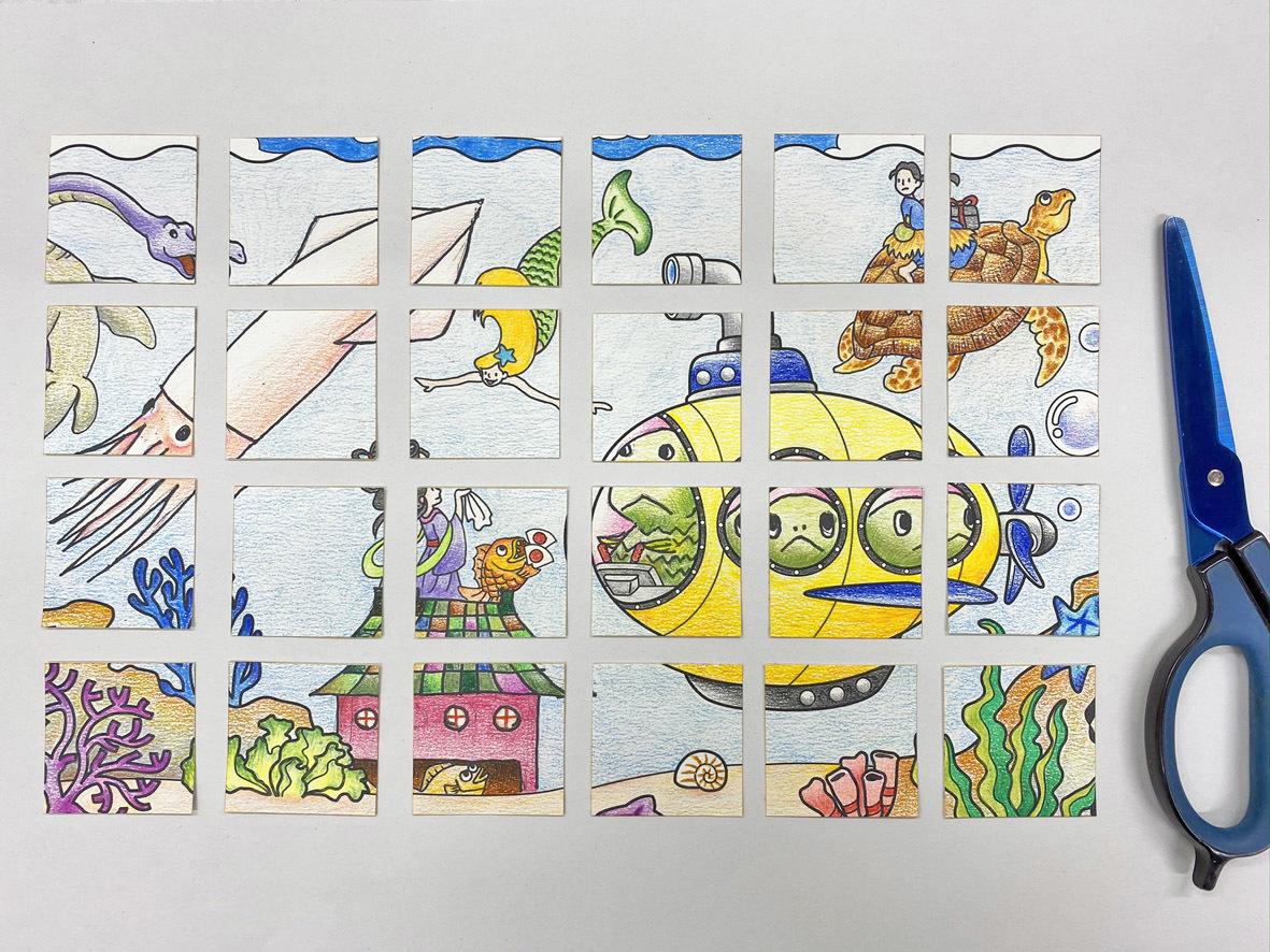 おうちで楽しむプログラム4:つくってあそぼう「描いて切るオリジナルパズル」_c0222139_16434105.jpg