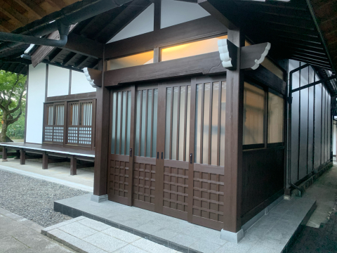 お寺さんの建具です。豊科の「専念寺」の本堂の改修工事が終了しました。詳細は後日アップします。_c0202104_19142233.jpg