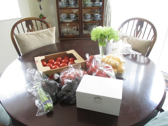 今年最後のトマト買い出しツア~&デンスケ西瓜を戴いた~~(^^♪_a0279743_14371628.jpg