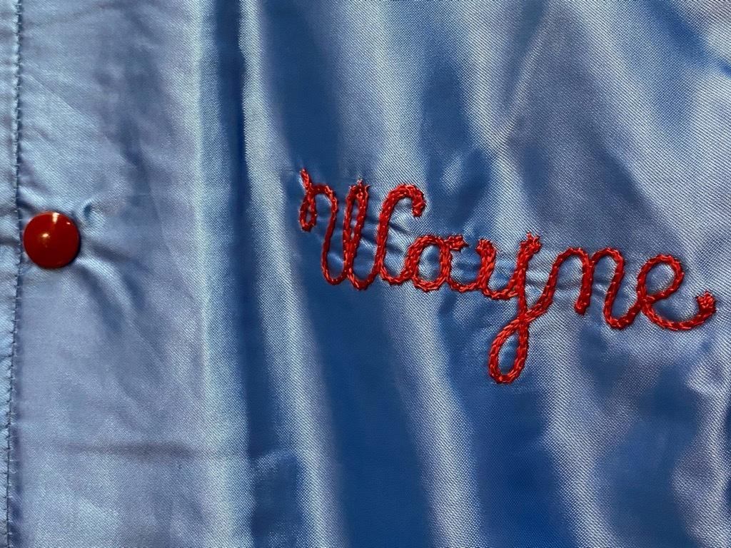 """8月8日(土)マグネッツ大阪店入荷日!\""""Nylon/Satin Varsity JKT Made In USA Part1\""""!!(マグネッツ大阪アメ村店)_c0078587_12403584.jpg"""