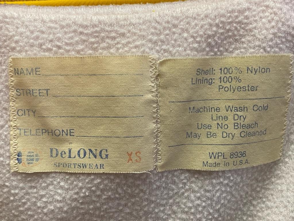 """8月8日(土)マグネッツ大阪店入荷日!\""""Nylon/Satin Varsity JKT Made In USA Part1\""""!!(マグネッツ大阪アメ村店)_c0078587_13090248.jpg"""