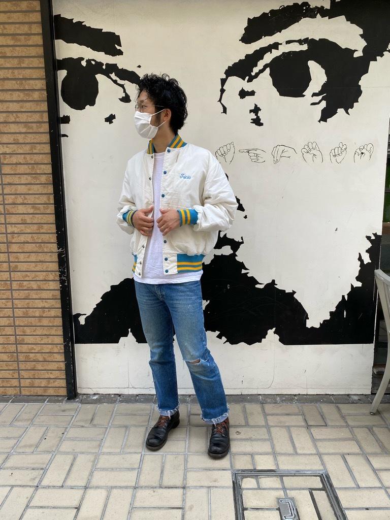 """8月8日(土)マグネッツ大阪店入荷日!\""""Nylon/Satin Varsity JKT Made In USA Part1\""""!!(マグネッツ大阪アメ村店)_c0078587_13170536.jpg"""