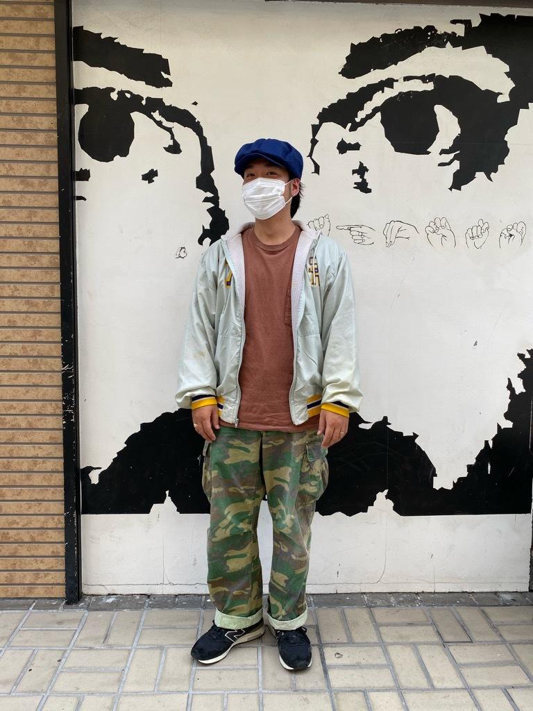 """8月8日(土)マグネッツ大阪店入荷日!\""""Nylon/Satin Varsity JKT Made In USA Part1\""""!!(マグネッツ大阪アメ村店)_c0078587_13171214.jpg"""