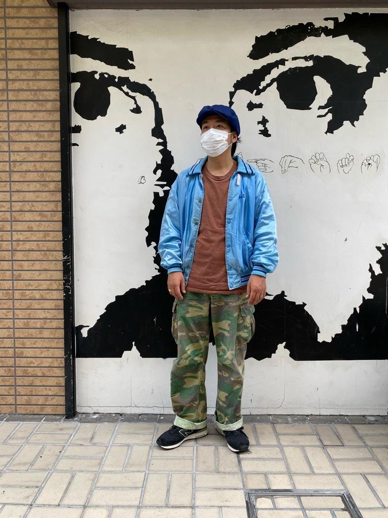 """8月8日(土)マグネッツ大阪店入荷日!\""""Nylon/Satin Varsity JKT Made In USA Part1\""""!!(マグネッツ大阪アメ村店)_c0078587_13172691.jpg"""