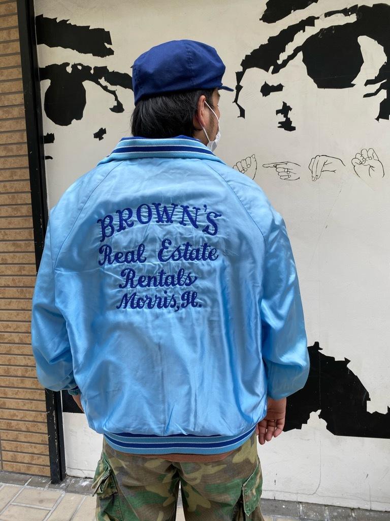 """8月8日(土)マグネッツ大阪店入荷日!\""""Nylon/Satin Varsity JKT Made In USA Part1\""""!!(マグネッツ大阪アメ村店)_c0078587_13172733.jpg"""
