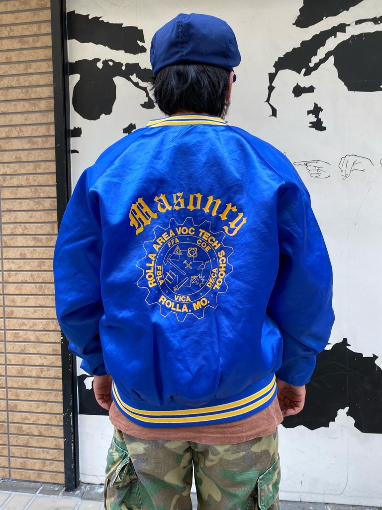 """8月8日(土)マグネッツ大阪店入荷日!\""""Nylon/Satin Varsity JKT Made In USA Part2\""""!!(マグネッツ大阪アメ村店)_c0078587_13221745.jpg"""