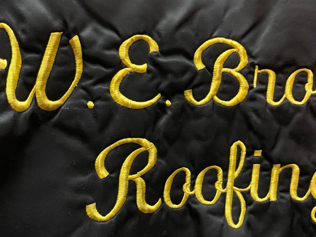 """8月8日(土)マグネッツ大阪店入荷日!\""""Nylon/Satin Varsity JKT Made In USA Part2\""""!!(マグネッツ大阪アメ村店)_c0078587_14170777.jpg"""