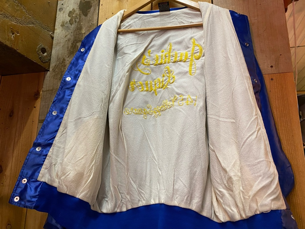 """8月8日(土)マグネッツ大阪店入荷日!\""""Nylon/Satin Varsity JKT Made In USA Part2\""""!!(マグネッツ大阪アメ村店)_c0078587_14240043.jpg"""