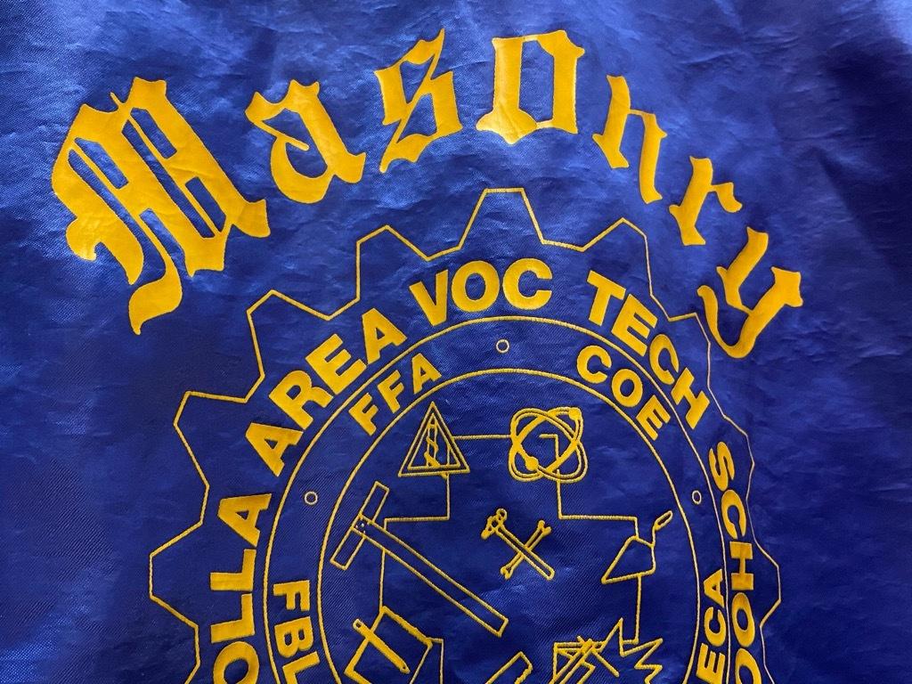 """8月8日(土)マグネッツ大阪店入荷日!\""""Nylon/Satin Varsity JKT Made In USA Part2\""""!!(マグネッツ大阪アメ村店)_c0078587_14255246.jpg"""