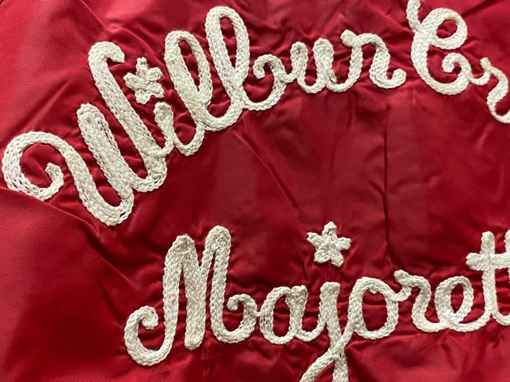 """8月8日(土)マグネッツ大阪店入荷日!\""""Nylon/Satin Varsity JKT Made In USA Part2\""""!!(マグネッツ大阪アメ村店)_c0078587_14301802.jpg"""