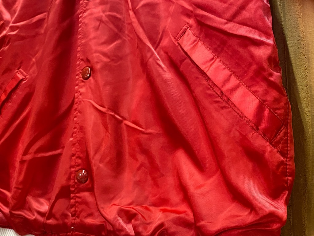 """8月8日(土)マグネッツ大阪店入荷日!\""""Nylon/Satin Varsity JKT Made In USA Part2\""""!!(マグネッツ大阪アメ村店)_c0078587_14341842.jpg"""
