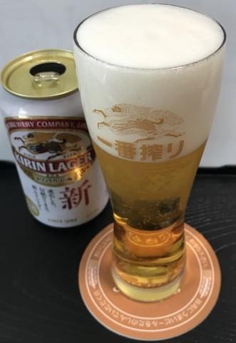 ビアランチ キリンラガー&一番搾り_b0176192_18121436.jpg