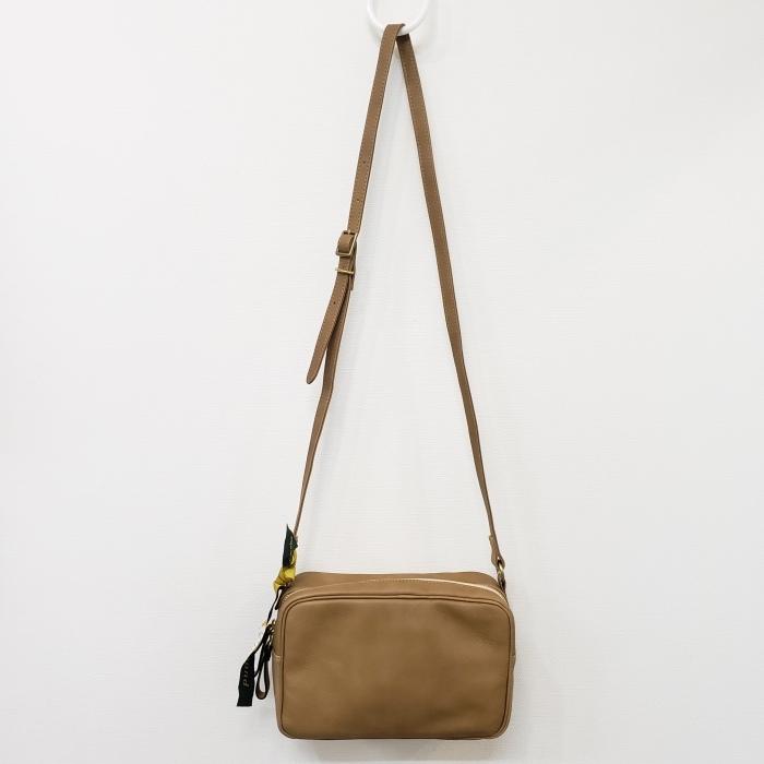 Ampersand アンパサンド Ampersand tanning shoulder bag 0419-401_e0076692_14141761.jpg