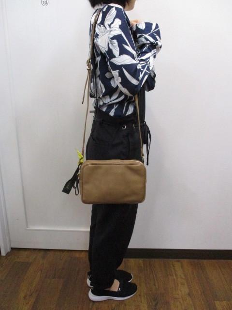 Ampersand アンパサンド Ampersand tanning shoulder bag 0419-401_e0076692_14263592.jpg