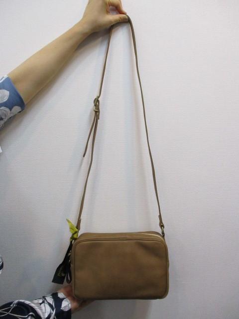Ampersand アンパサンド Ampersand tanning shoulder bag 0419-401_e0076692_14263734.jpg