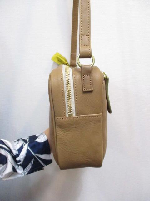 Ampersand アンパサンド Ampersand tanning shoulder bag 0419-401_e0076692_14263935.jpg