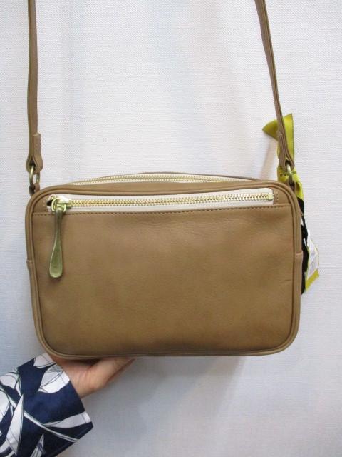 Ampersand アンパサンド Ampersand tanning shoulder bag 0419-401_e0076692_14264188.jpg