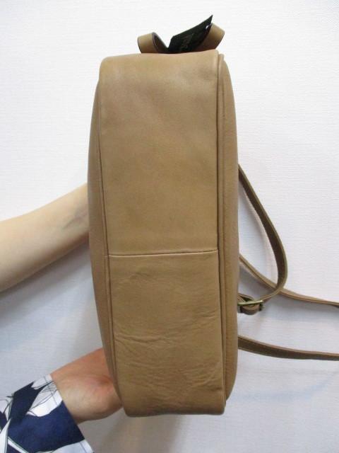 Ampersand アンパサンド Ampersand tanning shoulder bag 0419-401_e0076692_14264374.jpg
