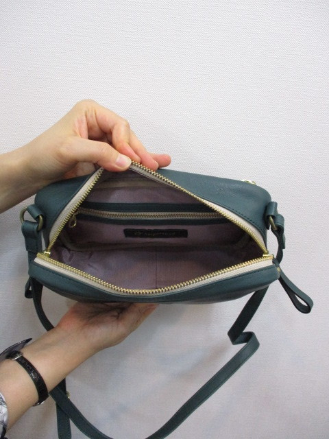 Ampersand アンパサンド Ampersand tanning shoulder bag 0419-401_e0076692_14282228.jpg