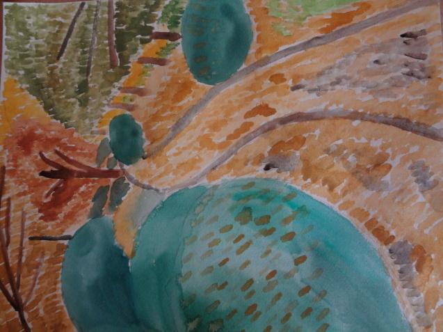 秋の風景を水彩画で描く_f0375930_14432632.jpg