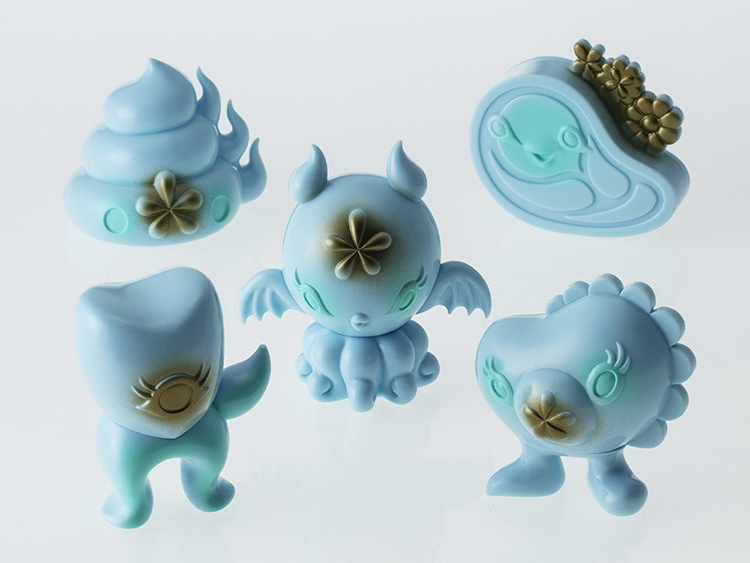Junkonotomo Aqua edition Set of 5 by Junko Mizuno_e0118156_02383192.jpg