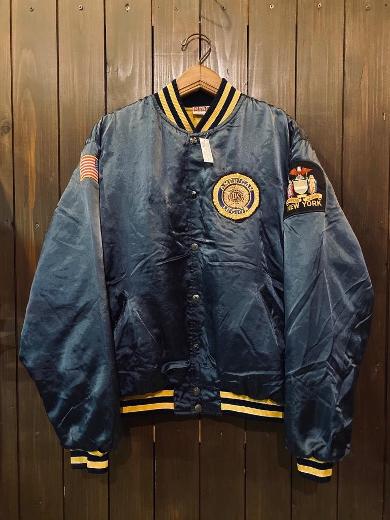 マグネッツ神戸店 8/8(土)Made in U.S.A. Nylon/Satin Varsity Jacket入荷! #1 Satin Varsity JKT!!!_c0078587_14170503.jpg