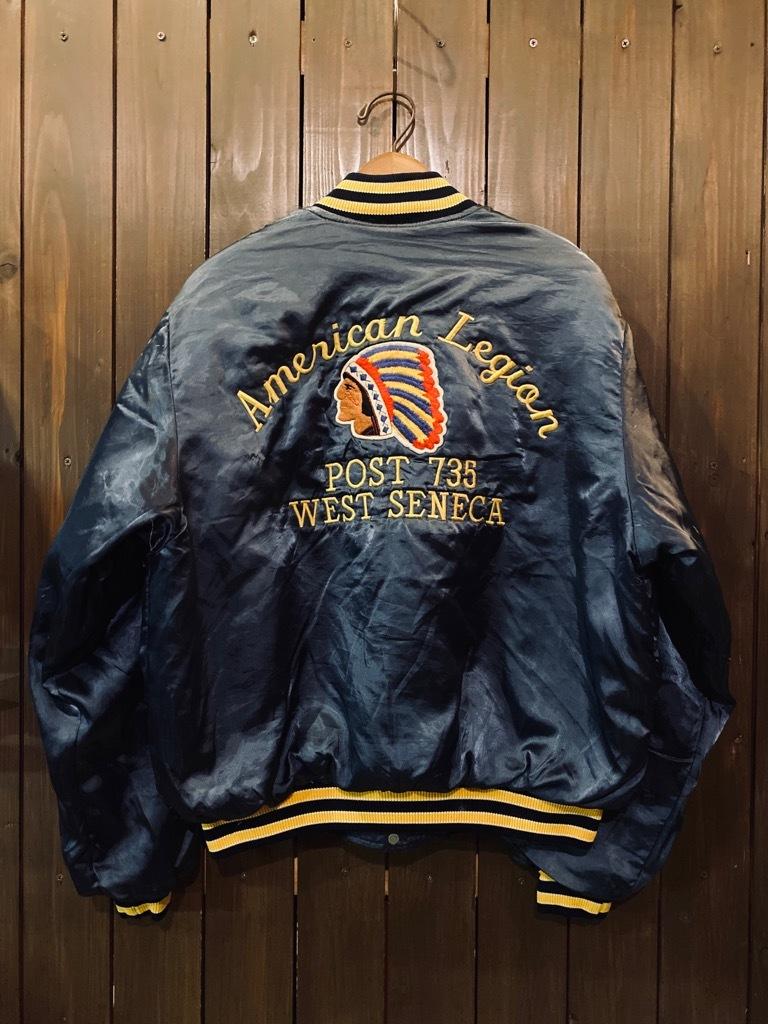 マグネッツ神戸店 8/8(土)Made in U.S.A. Nylon/Satin Varsity Jacket入荷! #1 Satin Varsity JKT!!!_c0078587_14170527.jpg