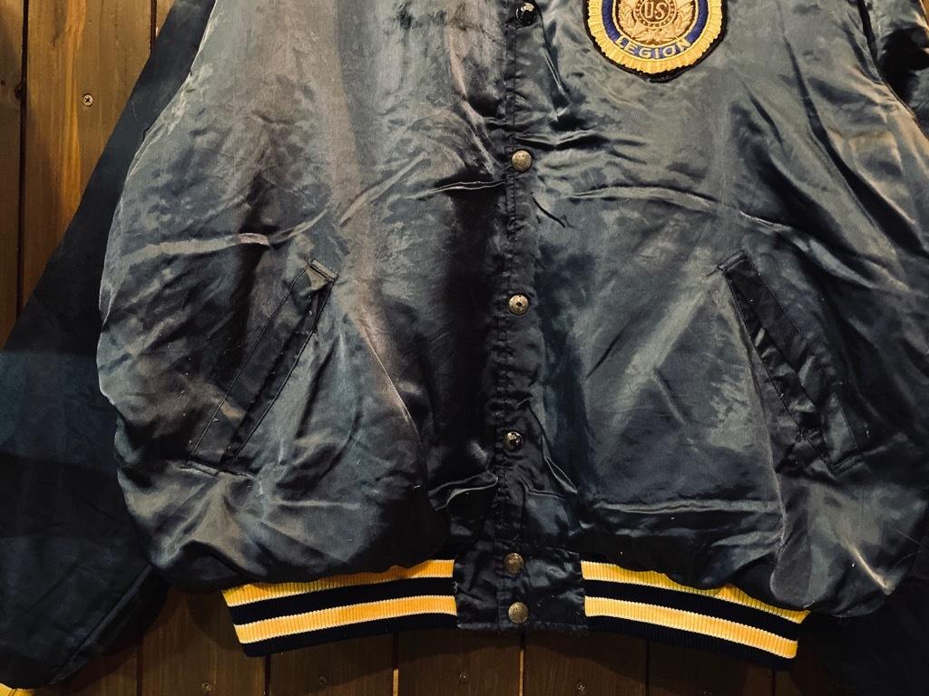 マグネッツ神戸店 8/8(土)Made in U.S.A. Nylon/Satin Varsity Jacket入荷! #1 Satin Varsity JKT!!!_c0078587_14173449.jpg