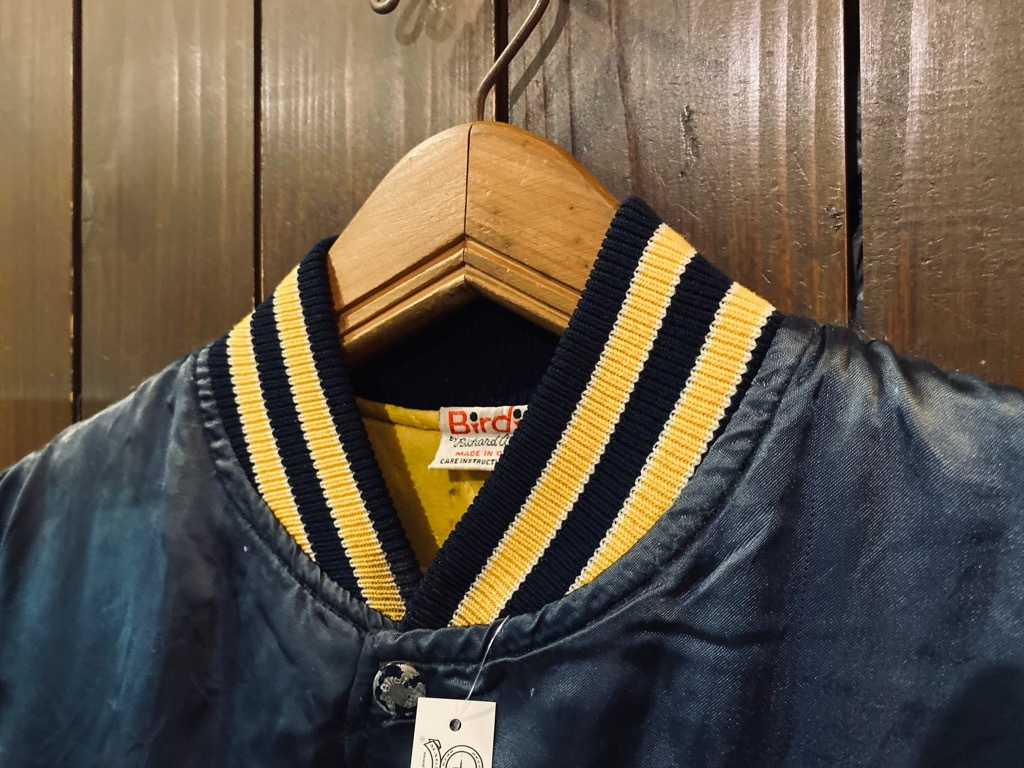 マグネッツ神戸店 8/8(土)Made in U.S.A. Nylon/Satin Varsity Jacket入荷! #1 Satin Varsity JKT!!!_c0078587_14173552.jpg