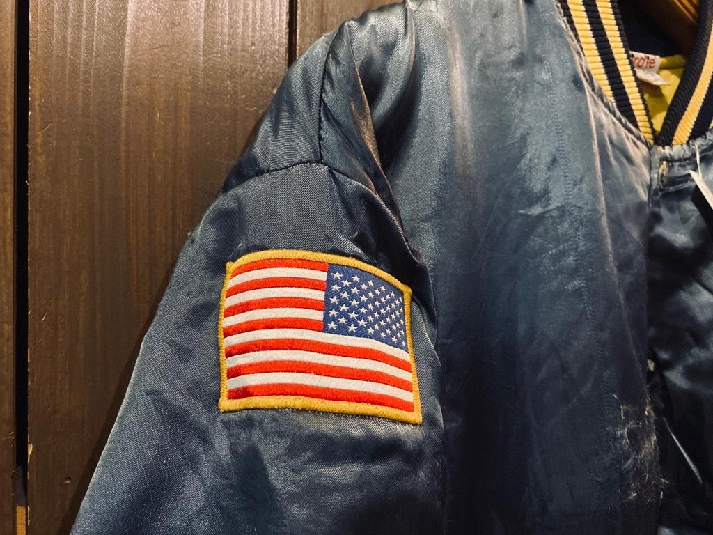 マグネッツ神戸店 8/8(土)Made in U.S.A. Nylon/Satin Varsity Jacket入荷! #1 Satin Varsity JKT!!!_c0078587_14173601.jpg