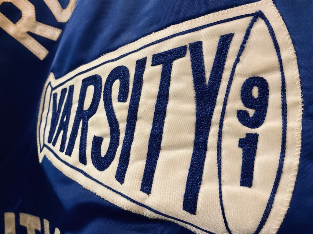 マグネッツ神戸店 8/8(土)Made in U.S.A. Nylon/Satin Varsity Jacket入荷! #1 Satin Varsity JKT!!!_c0078587_14215172.jpg
