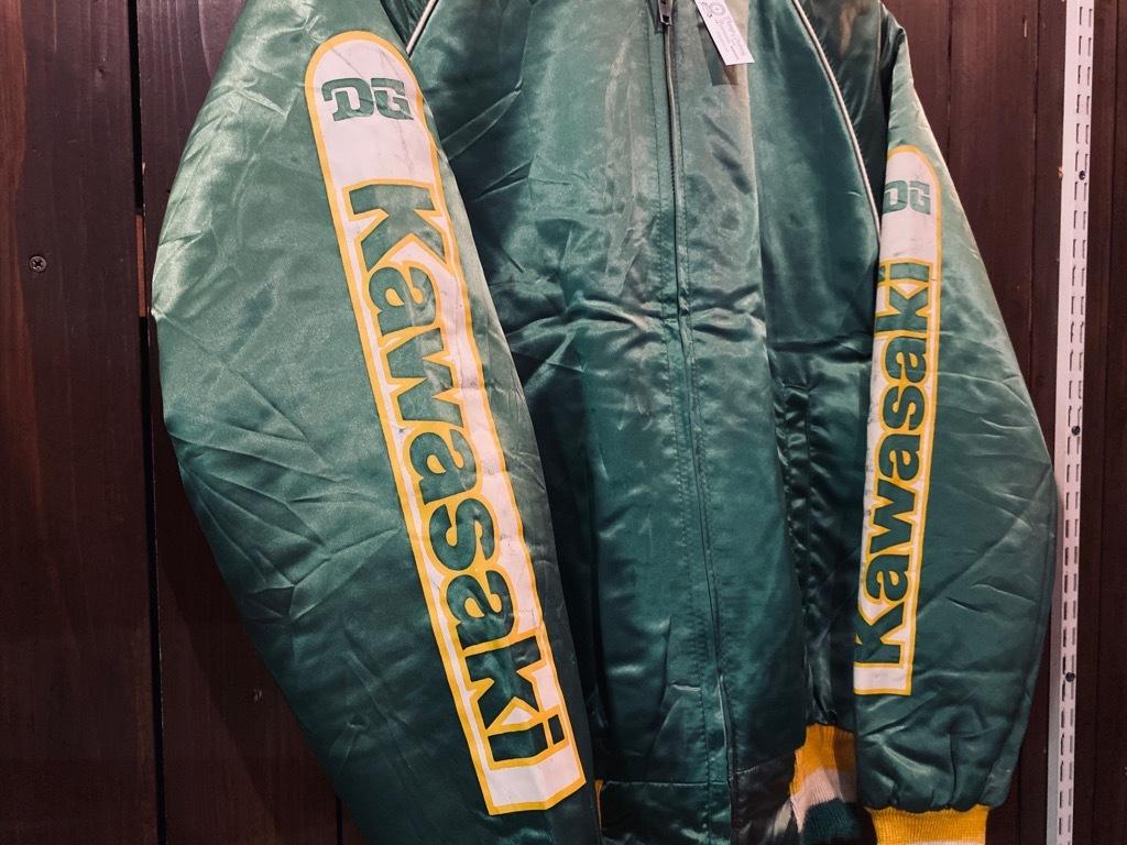 マグネッツ神戸店 8/8(土)Made in U.S.A. Nylon/Satin Varsity Jacket入荷! #1 Satin Varsity JKT!!!_c0078587_14491425.jpg