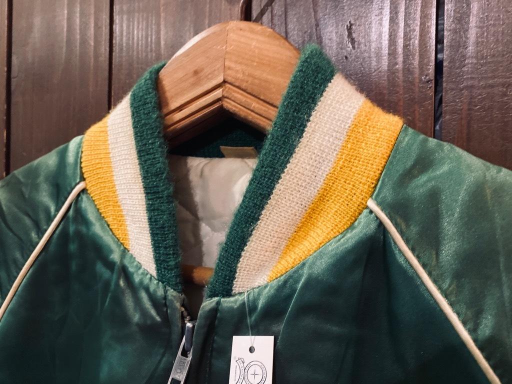 マグネッツ神戸店 8/8(土)Made in U.S.A. Nylon/Satin Varsity Jacket入荷! #1 Satin Varsity JKT!!!_c0078587_14491553.jpg