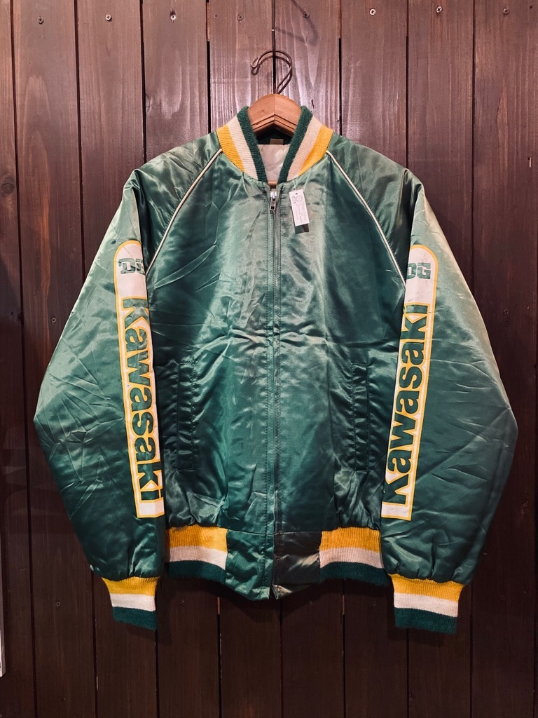 マグネッツ神戸店 8/8(土)Made in U.S.A. Nylon/Satin Varsity Jacket入荷! #1 Satin Varsity JKT!!!_c0078587_14491568.jpg