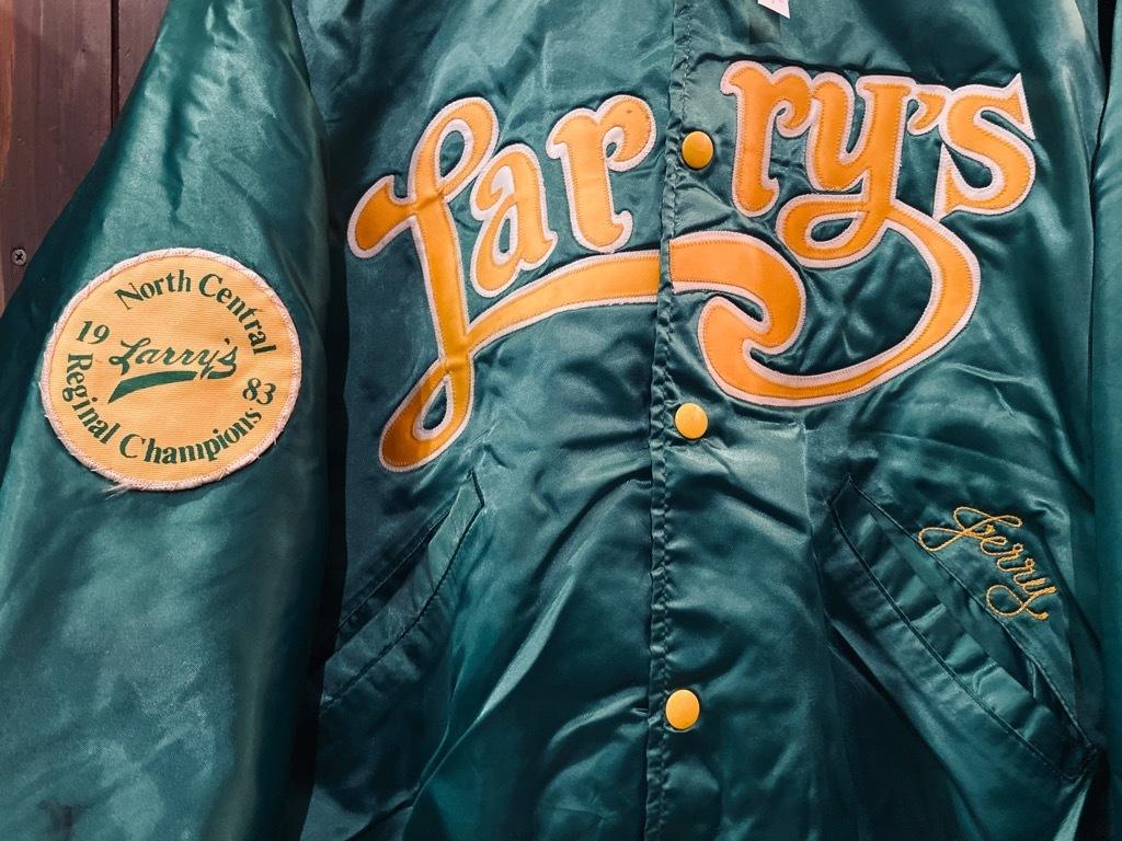 マグネッツ神戸店 8/8(土)Made in U.S.A. Nylon/Satin Varsity Jacket入荷! #1 Satin Varsity JKT!!!_c0078587_14495350.jpg