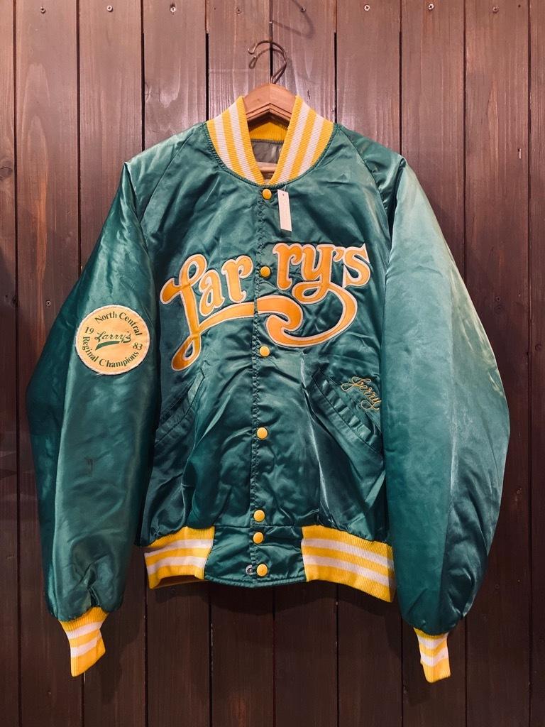 マグネッツ神戸店 8/8(土)Made in U.S.A. Nylon/Satin Varsity Jacket入荷! #1 Satin Varsity JKT!!!_c0078587_14495456.jpg