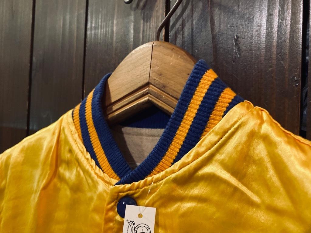 マグネッツ神戸店 8/8(土)Made in U.S.A. Nylon/Satin Varsity Jacket入荷! #3 Chain Stitch!!!_c0078587_14522974.jpg