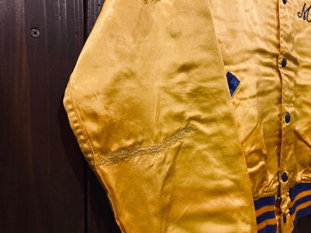 マグネッツ神戸店 8/8(土)Made in U.S.A. Nylon/Satin Varsity Jacket入荷! #3 Chain Stitch!!!_c0078587_14523034.jpg