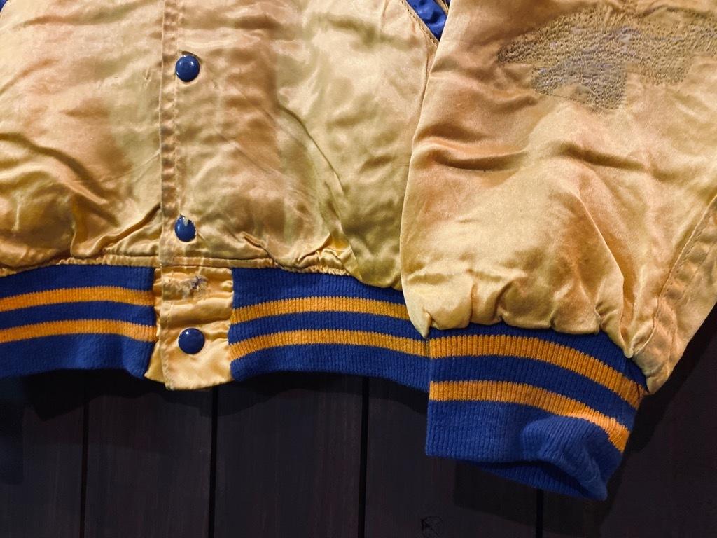 マグネッツ神戸店 8/8(土)Made in U.S.A. Nylon/Satin Varsity Jacket入荷! #3 Chain Stitch!!!_c0078587_14523036.jpg