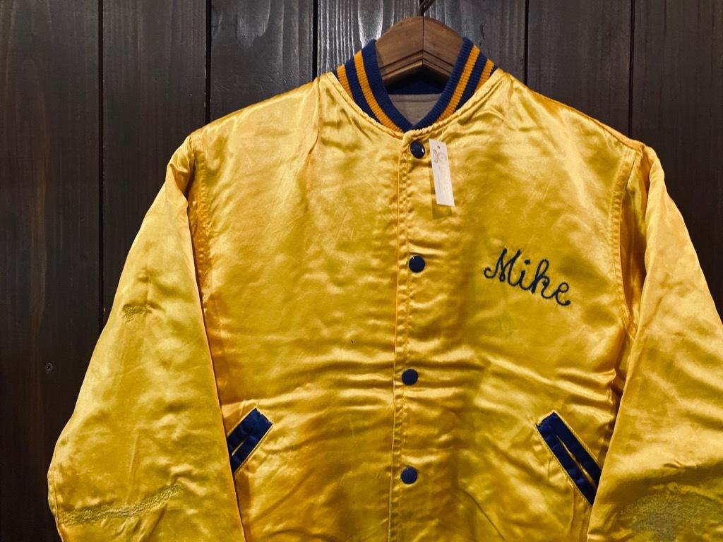 マグネッツ神戸店 8/8(土)Made in U.S.A. Nylon/Satin Varsity Jacket入荷! #3 Chain Stitch!!!_c0078587_14523135.jpg