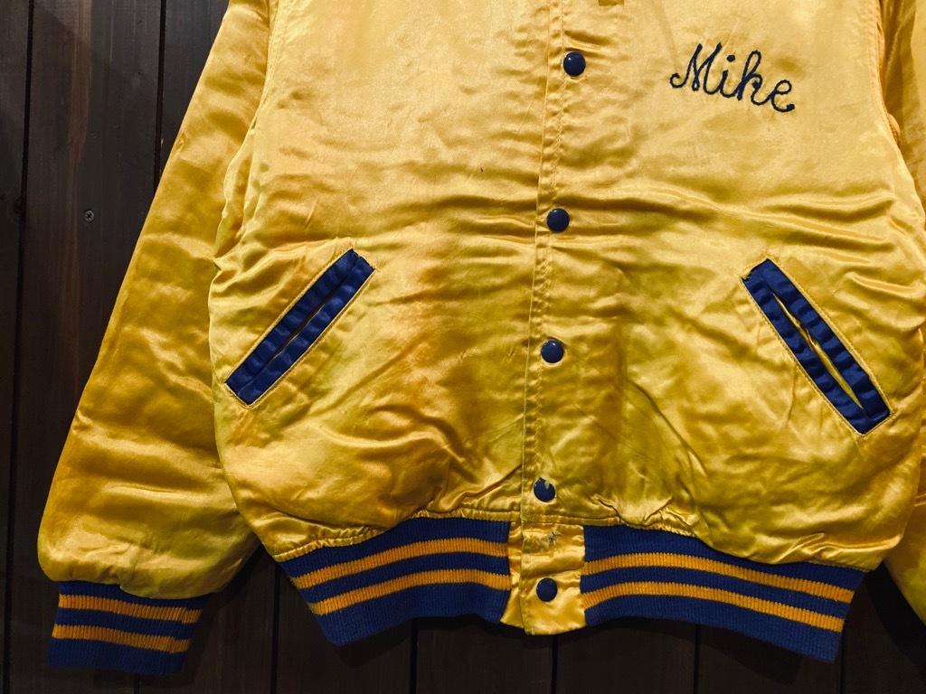 マグネッツ神戸店 8/8(土)Made in U.S.A. Nylon/Satin Varsity Jacket入荷! #3 Chain Stitch!!!_c0078587_14523157.jpg