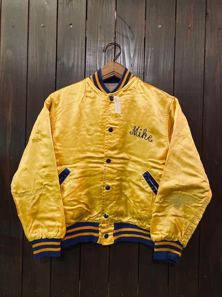 マグネッツ神戸店 8/8(土)Made in U.S.A. Nylon/Satin Varsity Jacket入荷! #3 Chain Stitch!!!_c0078587_14523176.jpg